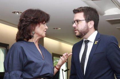 El Govern reclama la intervención del Ejecutivo de Sánchez para sacar el 'procés' de los tribunales