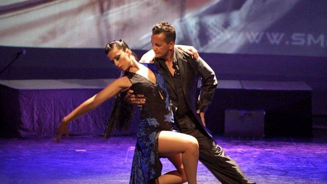 Tango málaga festival teatro echegaray baile Debora y Carlos