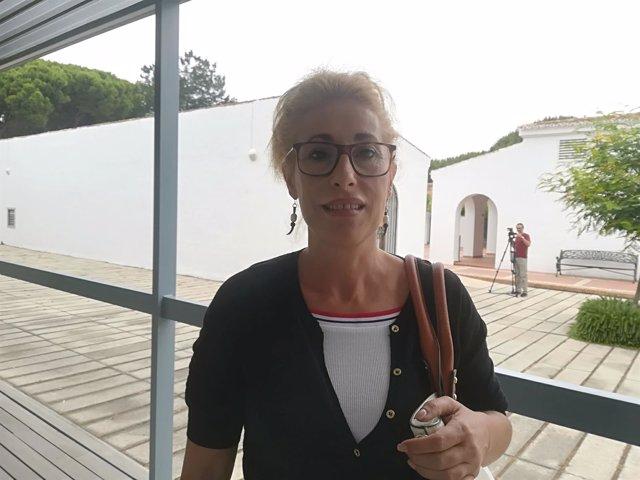 Valeria Lorenzo en los cursos de verano de la UNIA