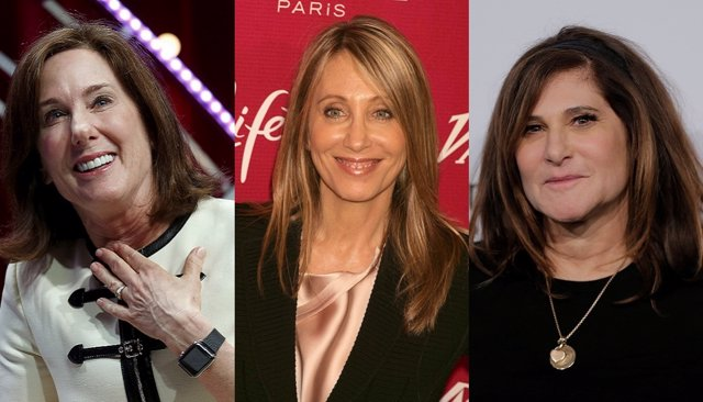 Kathleen Kennedy, Stacey Snider y Amy Pascal