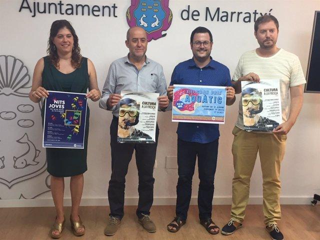 Presentación del programa de actividades de verano de Marratxí