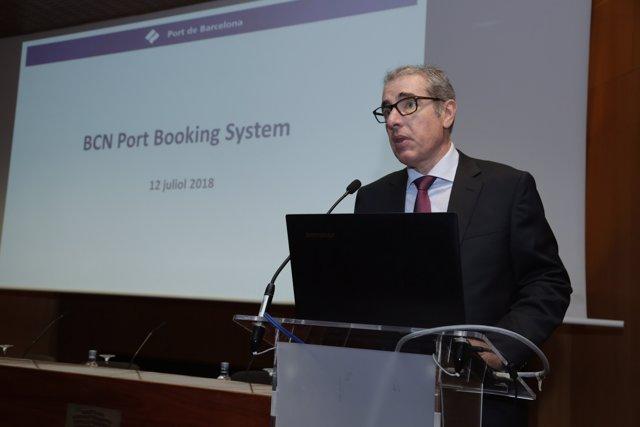 El director general del Port de Barcelona, Jose Alberto Carbonell
