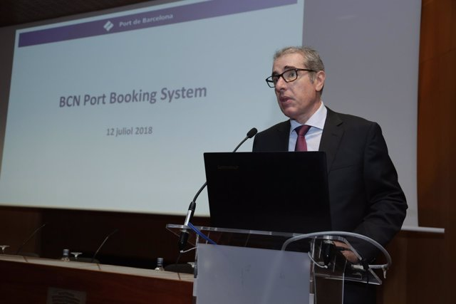El director general del Port de Barcelona, Jose Alberto Carbonell
