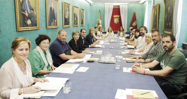 La Mesa Interinstitucional para el equilibrio territorial de Álava.