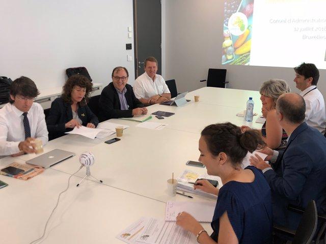 Reunió de treball a Brussel·les de la consellera Teresa Jordà