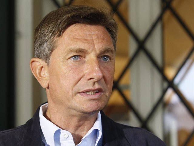 El presidente esloveno, Borut Pahor