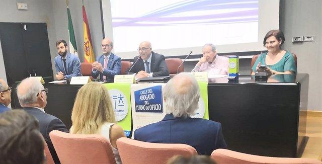 Acto del Colegio de Abogados de Cádiz por el Turno de Oficio