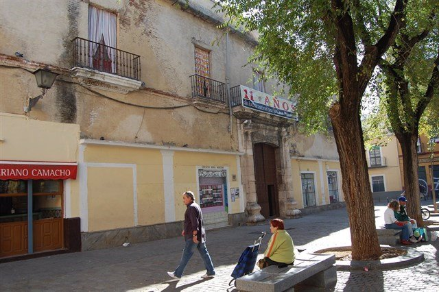 Plaza del Pumarejo.