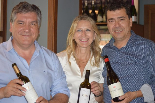 Xavier Cepero, Mireia González y Tomàs Cusiné