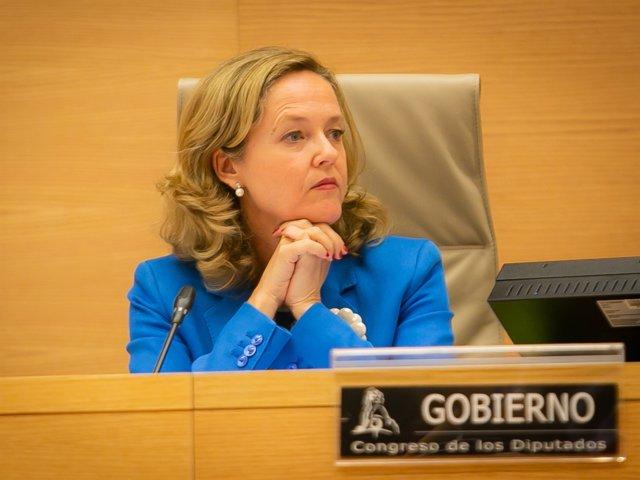 Nadia Calviño, ministra d'Economia