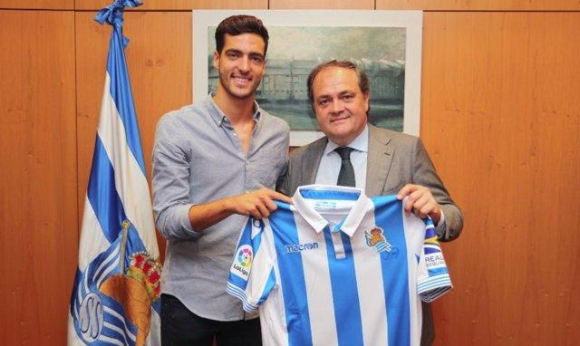 Mikel Merino ficha por la Real Sociedad