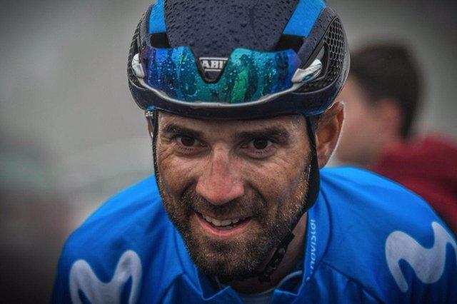 Alejandro Valverde, corredor del Movistar Team
