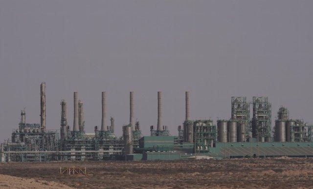 Instalaciones de gas y petróleo en Ras Lanuf