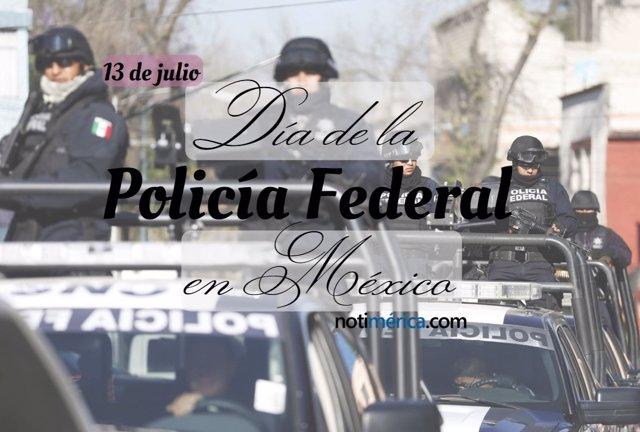 Día de la Policía Federal en México