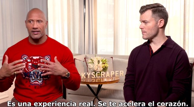 Dwayne Johnson Y Rawson Marshall Thurber