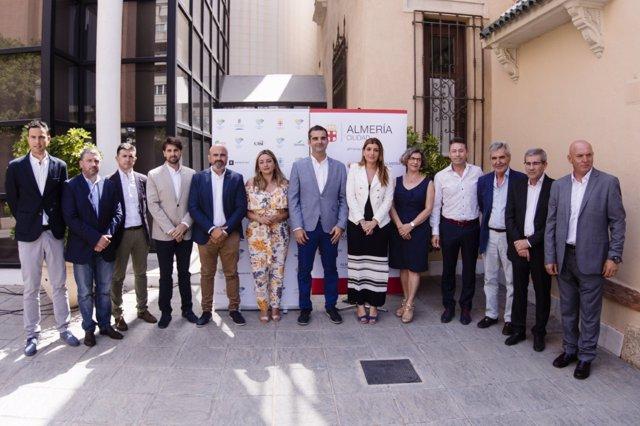 La candidatura 'Almería 2019' suma los primeros doce patrocinadores.