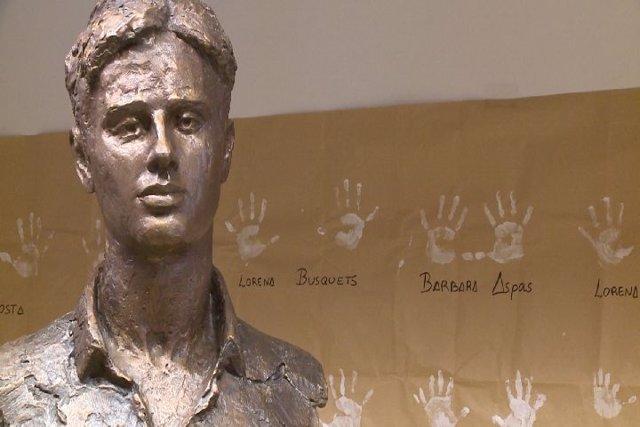 Estatua de Miguel Ángel Blanco