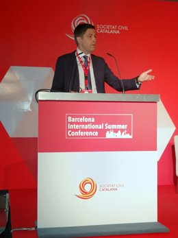 El presidente de Societat Civil Catalana (SCC), José Rosiñol