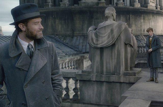 Dumbledore y Scamander