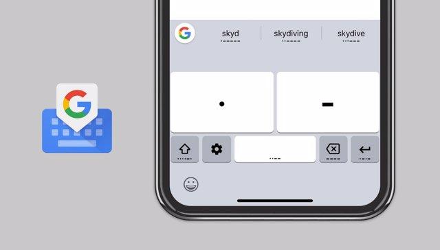 Gboard para iOs introduce el código Morse