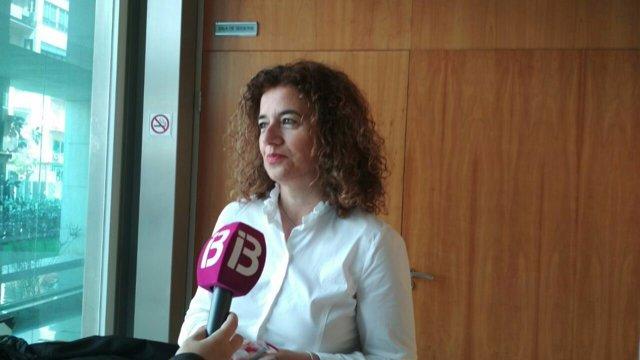 Pilar Costa, consejera de Pesidencia y portavoz del Govern de Baleares