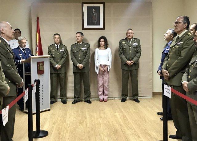 Delegado de defensa en Baleares, Jesús Lanza
