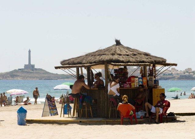Playa chiringuito