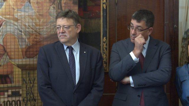 Ximo Puig i Enric Morera
