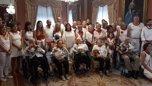 Homenaje del Ayuntamiento de Pamplona a los centen