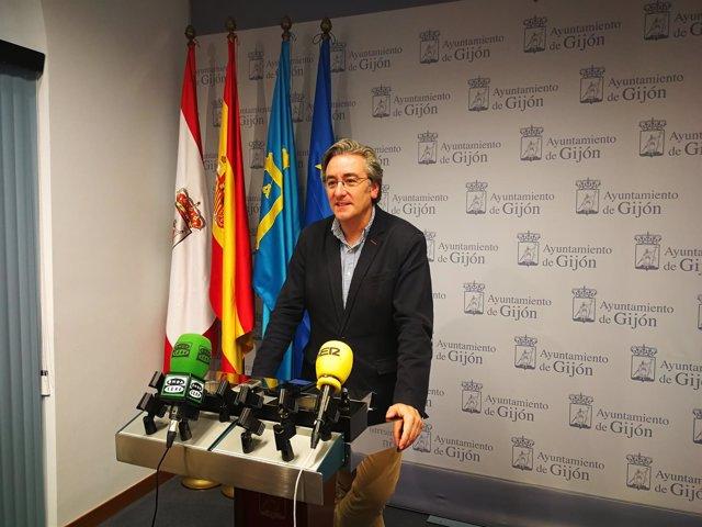 Pablo González, PP de Gijón