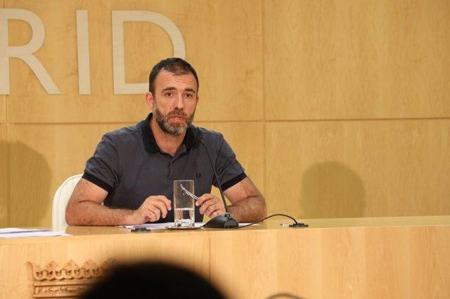 El delegado de Coordinación Territorial, Nacho Murgui