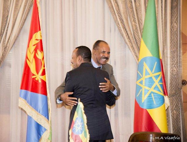 Abiy Ahmed, Isaias Afewerki