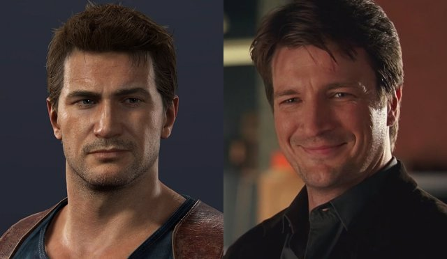 Uncharted y Nathan Fillion