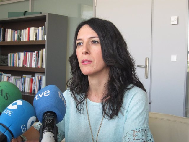 La consejera de Educación, Esther Gutiérrez