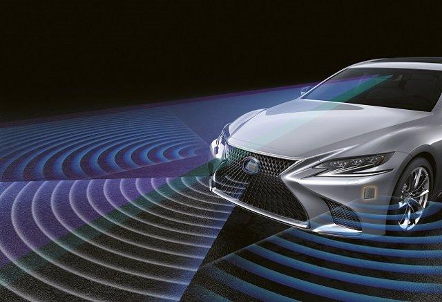 Sistema de seguridad de Lexus