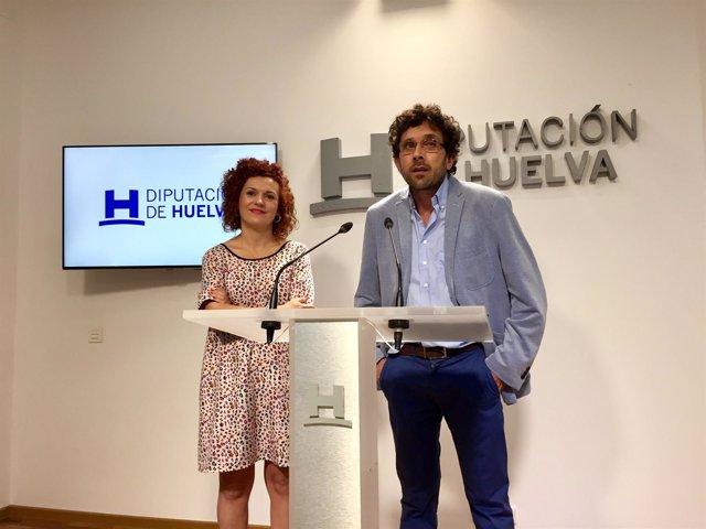 La vicepresidenta de la Diputación de Huelva, María Eugenia Limón.