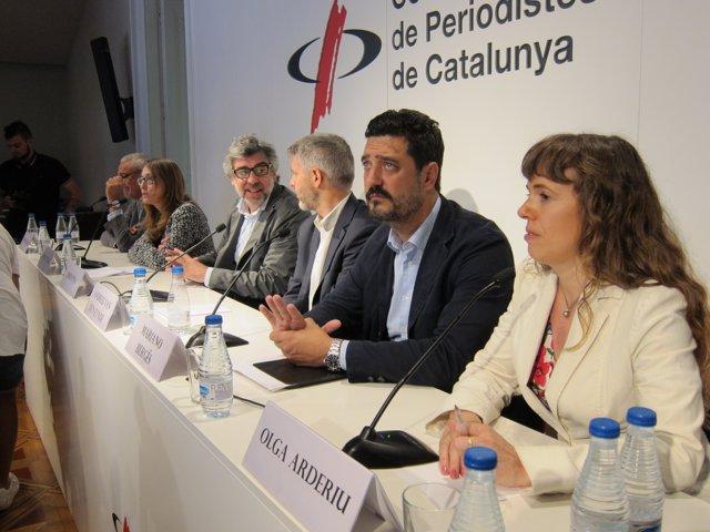 Advocats dels polítics sobiranistes presos