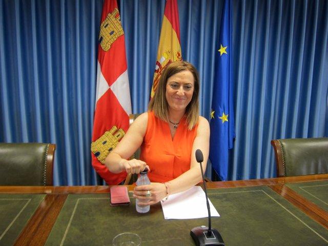 Foto de archivo de Virginia Barcones, nueva delegada del Gobierno en CyL