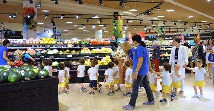 La novena edición del programa de Caprabo enseña a comer sano a más de 6.700 niños