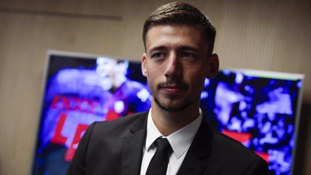 El jugador del FC Barcelona Clément Lenglet