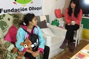 Andrea, la niña panameña que ha vuelto a nacer tras ser operada en Madrid de un tumor gigante
