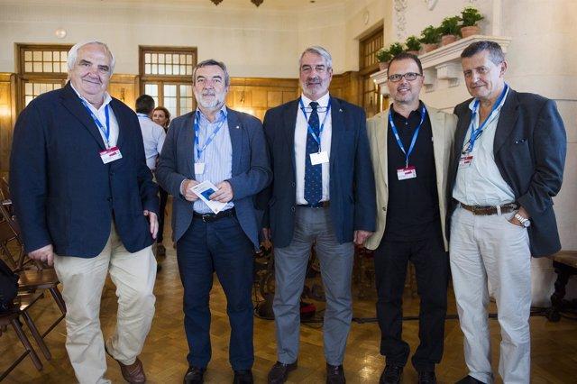 Particioantes en el encuentro UIMP