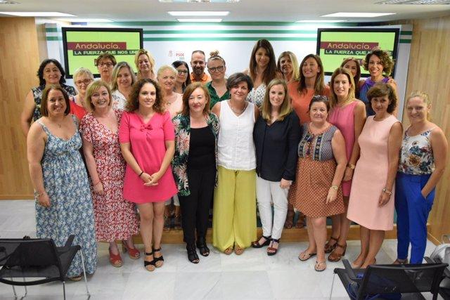Jornada PSOE Malaga sobre igualdad y violencia de genero