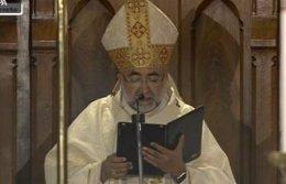 El Arzobispo de Oviedo, Monseñor Jesús Sanz Montes