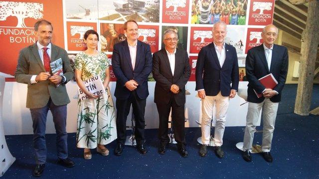 Equipo directivo de la Fundación Botín presenta la memoria de actividades 2017