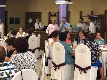 Más de un centenar de mayores se reúnen en María en una jornada de convivencia impulsada por Diputación