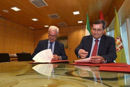 Junta y Diputación firman un convenio marco para actuaciones en fosas y la recuperación de la Memoria