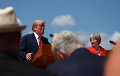 """Trump lamenta """"en voz muy alta"""" que """"la inmigración es muy negativa para Europa y su cultura"""""""