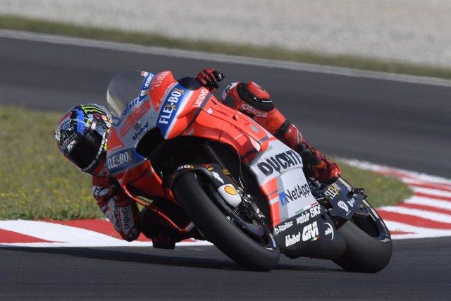 Jorge Lorenzo, en el Gran Premio de Catalunya