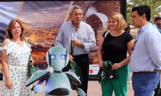 De la Cirva en la presentación de la campaña 'Un patrimonio de cine'
